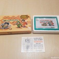 Videojuegos y Consolas: NINTENDO GAME & WATCH BOMB SWEEPER CON CAJA INTRUCCIONES Y FUNCIONANDO GRAN ESTADO. Lote 195226217
