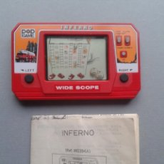 Videojuegos y Consolas: POP GAME GAME&WATCH LCD INFERNO WIDE SCOPE+INSTRUCTION MANUAL FULL WORKING SEE!! R10109. Lote 195362772