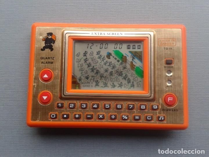 TRONICA GAME&WATCH LCD THIEF IN GARDEN GOOD CONDITION FULL WORKING SEE!! R10111 (Juguetes - Videojuegos y Consolas - Otros descatalogados)