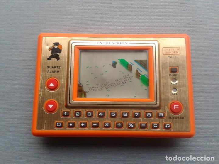 Videojuegos y Consolas: TRONICA GAME&WATCH LCD THIEF IN GARDEN GOOD CONDITION FULL WORKING SEE!! R10111 - Foto 4 - 195362900