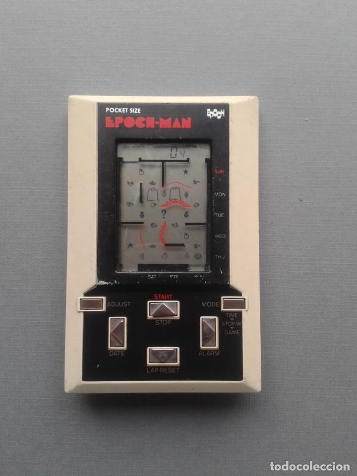 EPOCH GAME&WATCH LCD POCKET SIZE EPOCH-MAN PACMAN GOOD CONDITION FULL WORKING R10112 (Juguetes - Videojuegos y Consolas - Otros descatalogados)