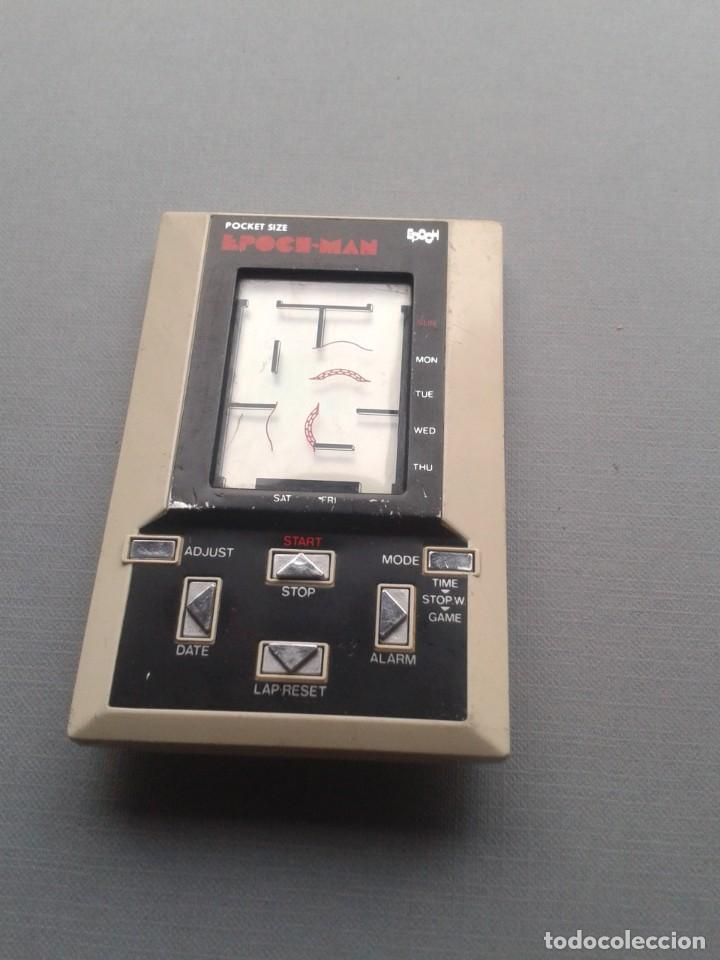 Videojuegos y Consolas: EPOCH GAME&WATCH LCD POCKET SIZE EPOCH-MAN PACMAN GOOD CONDITION FULL WORKING R10112 - Foto 3 - 195362935