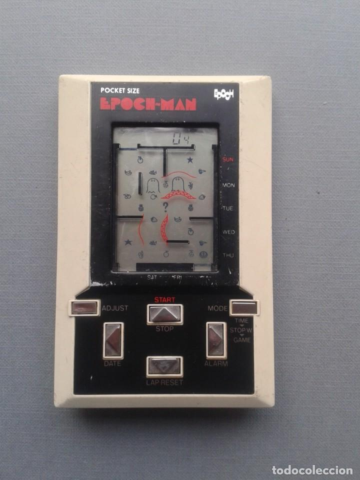 Videojuegos y Consolas: EPOCH GAME&WATCH LCD POCKET SIZE EPOCH-MAN PACMAN GOOD CONDITION FULL WORKING R10112 - Foto 6 - 195362935