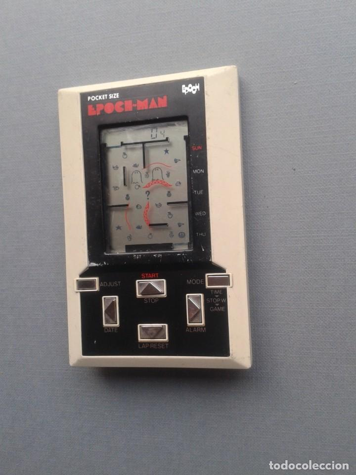 Videojuegos y Consolas: EPOCH GAME&WATCH LCD POCKET SIZE EPOCH-MAN PACMAN GOOD CONDITION FULL WORKING R10112 - Foto 7 - 195362935