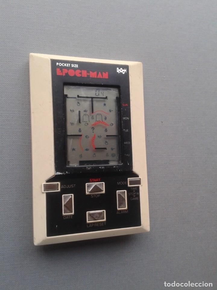 Videojuegos y Consolas: EPOCH GAME&WATCH LCD POCKET SIZE EPOCH-MAN PACMAN GOOD CONDITION FULL WORKING R10112 - Foto 8 - 195362935