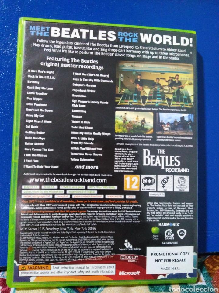 Videojuegos y Consolas: Juego xbox 360 the Beatles - Foto 2 - 195788646