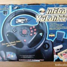 Videojuegos y Consolas: CONSOLA MEGA VOLANTE CEFA TOYS. NUEVO SIN ESTRENAR. 1991. EMBALAJE ORIGINAL . Lote 196005085