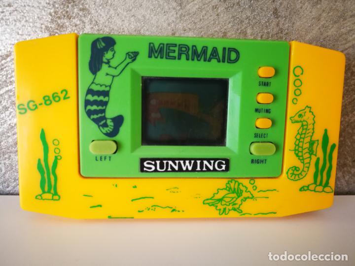 ANTIGUA MAQUINITA TIPO GAME WATCH MERMAID SUNWING (Juguetes - Videojuegos y Consolas - Otros descatalogados)