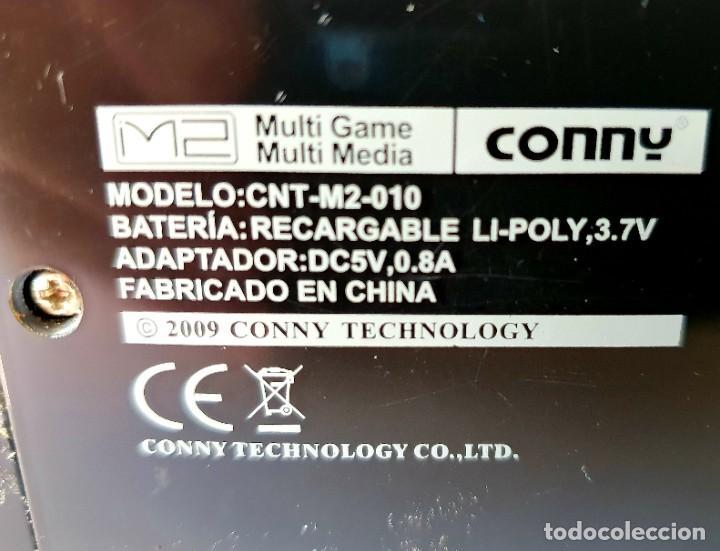 Videojuegos y Consolas: CONSOLA CONNY M2 AÑO 2009 - Foto 3 - 195797525