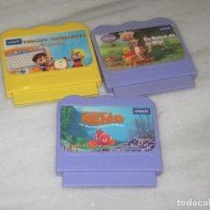 Videojuegos y Consolas: LOTE DE 3 JUEGOS EDUCATIVOS.. Lote 196501612