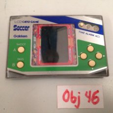 Videojuegos y Consolas: MAQUINITA LCD CARD GAME GAKKEN SOCCER MADE IN JAPAN . GAME & WATCH. Lote 196809368