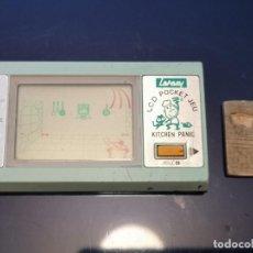 Videojuegos y Consolas: CONSOLA KITCHEN PANIC GAKKEN NO GAME WATCH VINTAGE 1980'S POCKET . Lote 196814341