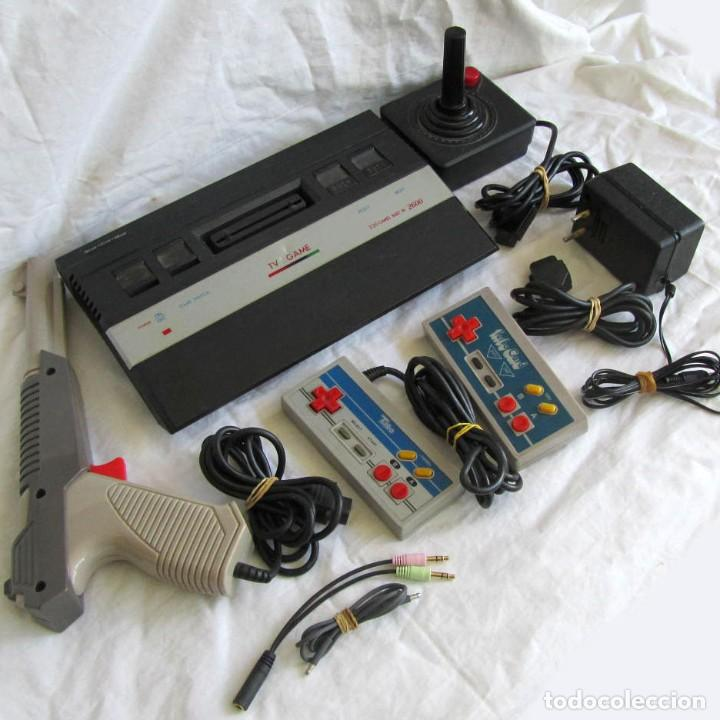 CONSOLA TV GAME COMPATIBLE ATARI 2600, 320 BUILTIN NEW + ACCESORIOS (Juguetes - Videojuegos y Consolas - Otros descatalogados)