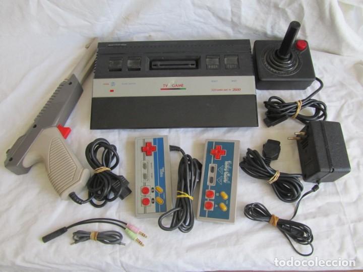 Videojuegos y Consolas: Consola TV Game Compatible Atari 2600, 320 Builtin new + accesorios - Foto 2 - 197097012