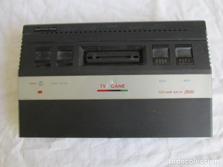 Videojuegos y Consolas: Consola TV Game Compatible Atari 2600, 320 Builtin new + accesorios - Foto 3 - 197097012