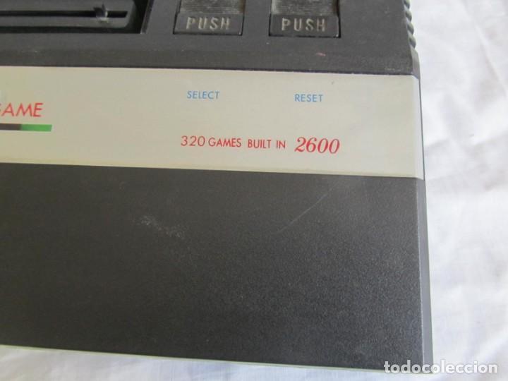 Videojuegos y Consolas: Consola TV Game Compatible Atari 2600, 320 Builtin new + accesorios - Foto 4 - 197097012