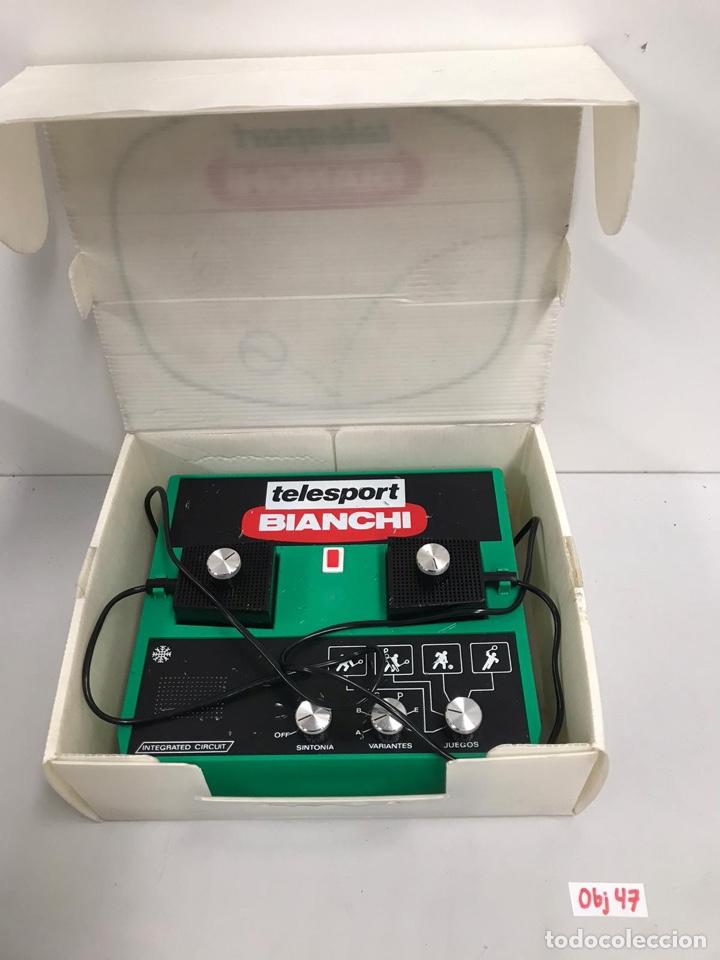 Videojuegos y Consolas: CONSOLA ANTIGUA DE VIDEOJUEGOS BIANCHI - Foto 2 - 197420313