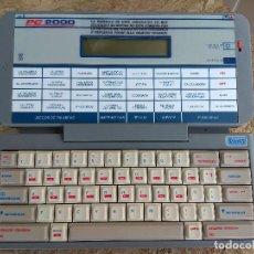 Videojuegos y Consolas: ORIGINAL JUGUETE PC 2000 VTECH MI MEJOR AMIGO AÑOS 80. Lote 198017261