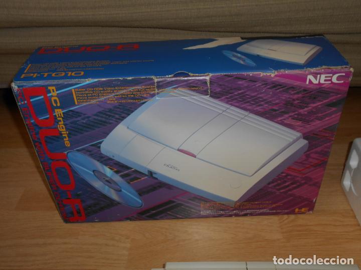 Videojuegos y Consolas: Consola PC ENGINE DUO R con su CAJA Cables PAD y MANUALES - Foto 4 - 198941768