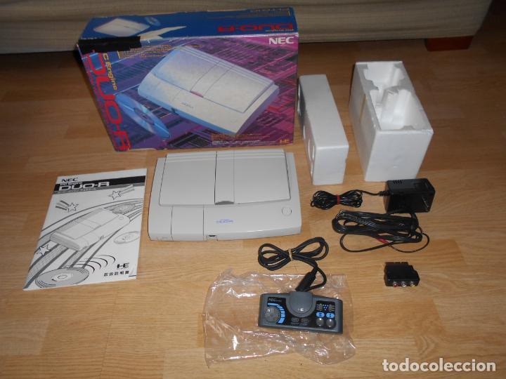 CONSOLA PC ENGINE DUO R CON SU CAJA CABLES PAD Y MANUALES (Juguetes - Videojuegos y Consolas - Otros descatalogados)