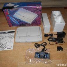 Videojuegos y Consolas: CONSOLA PC ENGINE DUO R CON SU CAJA CABLES PAD Y MANUALES. Lote 198941768
