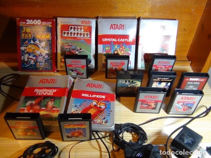 Videojuegos y Consolas: Atari 2600 con juegos - Foto 3 - 199096490