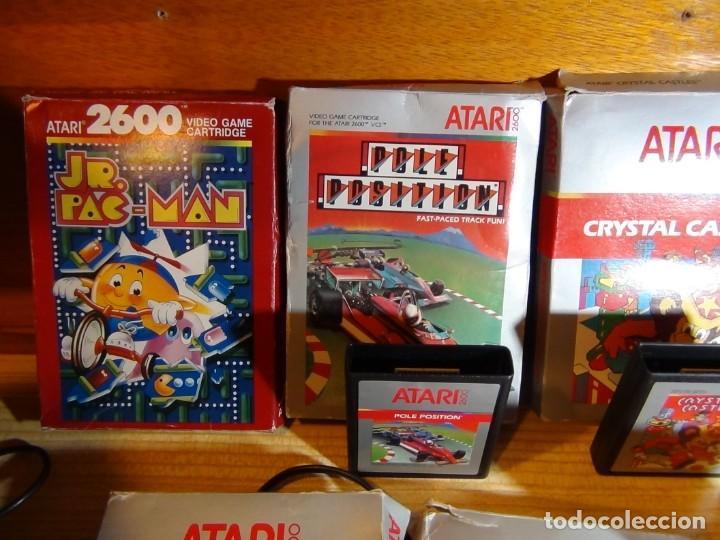 Videojuegos y Consolas: Atari 2600 con juegos - Foto 4 - 199096490