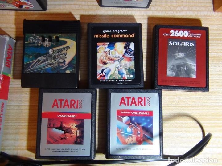 Videojuegos y Consolas: Atari 2600 con juegos - Foto 6 - 199096490