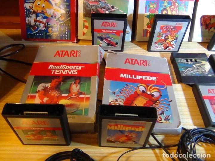 Videojuegos y Consolas: Atari 2600 con juegos - Foto 8 - 199096490