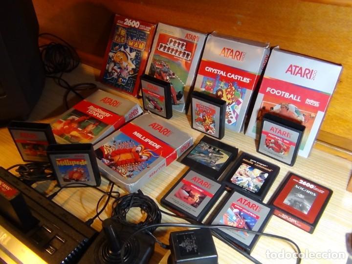 Videojuegos y Consolas: Atari 2600 con juegos - Foto 9 - 199096490