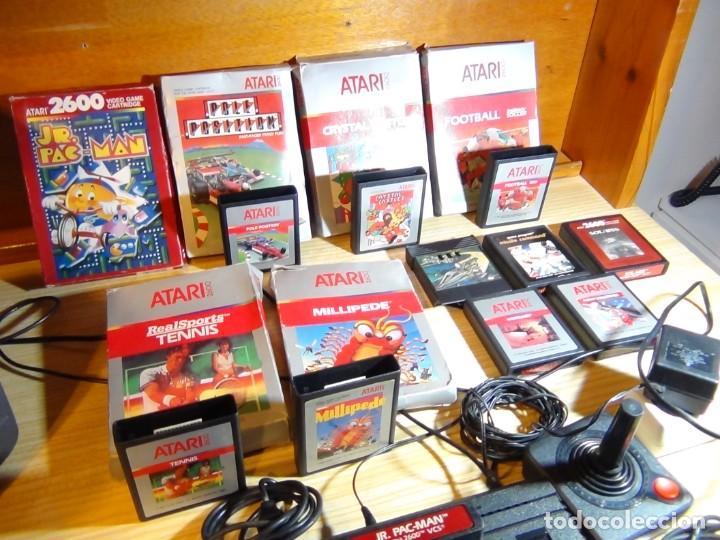 Videojuegos y Consolas: Atari 2600 con juegos - Foto 10 - 199096490