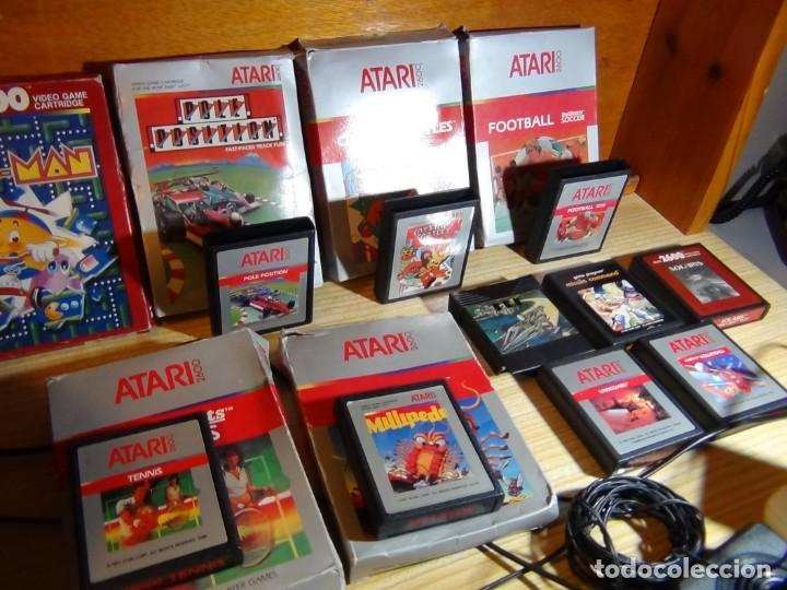 Videojuegos y Consolas: Atari 2600 con juegos - Foto 11 - 199096490