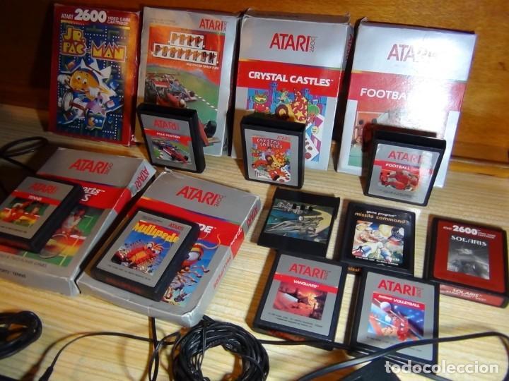 Videojuegos y Consolas: Atari 2600 con juegos - Foto 12 - 199096490