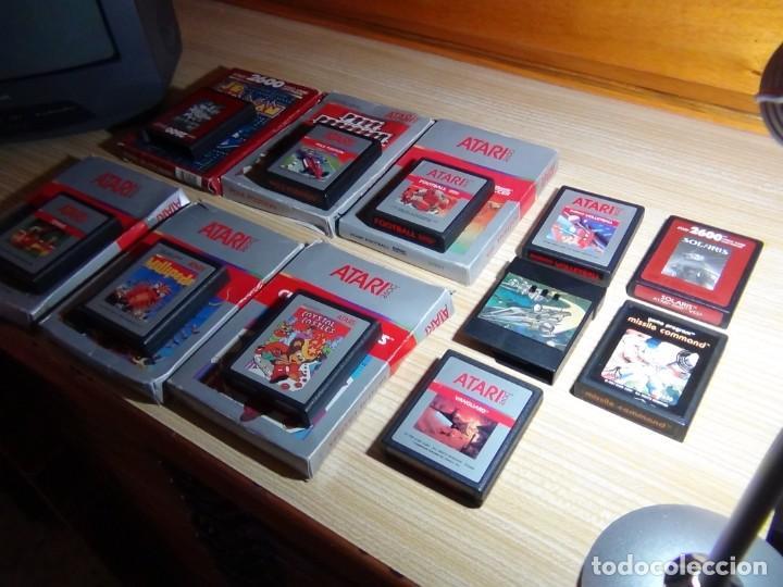 Videojuegos y Consolas: Atari 2600 con juegos - Foto 16 - 199096490