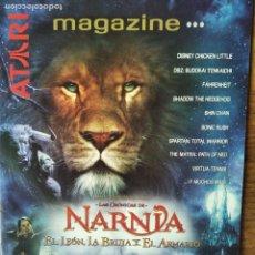 Videojuegos y Consolas: ATARI MAGAZINE 2005 CATALOGO PS2: NARNIA- FARENHEIT- SAINT SEIYA- DIGIMON- DRAGON BALL TENKAICHI.... Lote 199488642