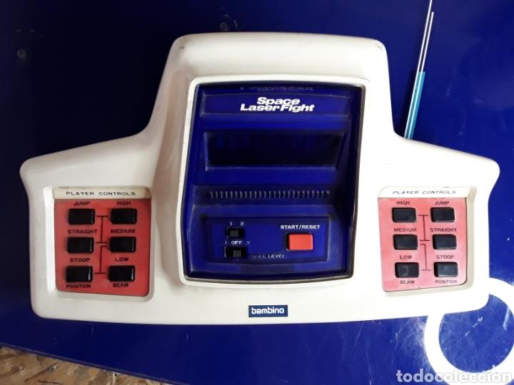 Videojuegos y Consolas: Máquina antigua bambino space láser fight - Foto 3 - 199650970