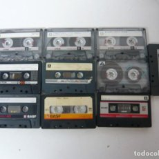 Videogiochi e Consoli: LOTE DE 10 CASSETTES VARIADOS, CON GRABACIONES DE VIDEOJUEGOS - CINTAS SPECTRUM, AMSTRAD, MSX .... Lote 199786083