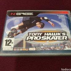Videojuegos y Consolas: JUEGO N-GAGE TONY HAWK'S PRO SKATER. Lote 199804270