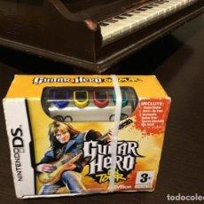Videojuegos y Consolas: GUITAR HERO NINTENDO DS ON TOUR. Lote 200189260
