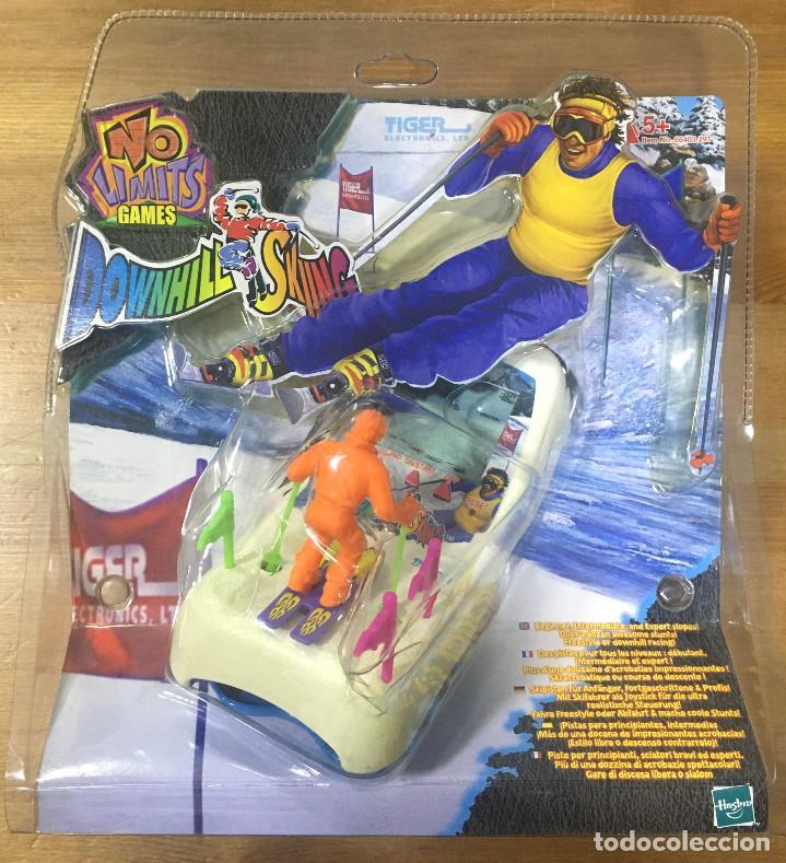 DOWNHILL SKIING - TIGER ELECTRONIC HASBRO (Juguetes - Videojuegos y Consolas - Otros descatalogados)