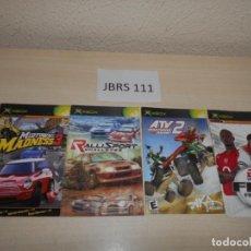 Videojuegos y Consolas: GUIAS - PACK DE 4 INTRUCIONES PARA XBOX. Lote 200883291