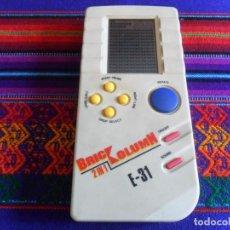 Videojuegos y Consolas: CONSOLA VINTAGE BRIC COLUMN BRICCOLUMN 2 IN 1 E-31. TETRIS. AÑOS 90. MUY RARA. . Lote 201279278