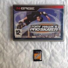 Videojuegos y Consolas: TONY HAWK,S PRO SKATER N-GAGE COMPLETO. Lote 201773118