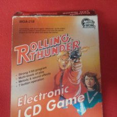 Videojuegos y Consolas: ROLLING THUNDER ELECTRONIC LCD GAME & WACH. Lote 202074042