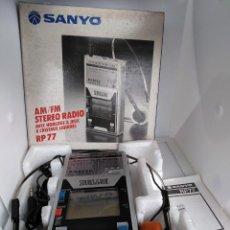 Videojuegos y Consolas: RAREZA SANYO RP 77 1983 RADIO MAQUINITA GAME EN CAJA A ESTRENAR LEER DESCRIPCIÓN. Lote 202396561