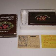Videojuegos y Consolas: NINTENDO GAME & WATCH DONKEY KONG II. Lote 202647896