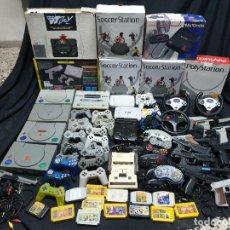 Videojuegos y Consolas: 19 VIDEOCONSOLAS CON ACCESORIOS. Lote 202790290