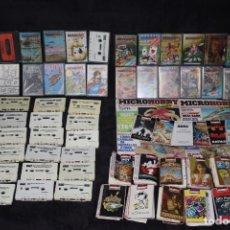 Videojuegos y Consolas: GRAN LOTE HOBBY CONSOLAS CASSETTES Y JUEGOS AMSTRAD SPECTRUM MSX AÑOS 80 Y REVISTAS. Lote 202901588