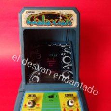 Videojuegos y Consolas: COLECO GALAXIAN. MÁQUINA DE MARCIANITOS. AÑO 1981. FUNCIONA A PILAS. Lote 203002878