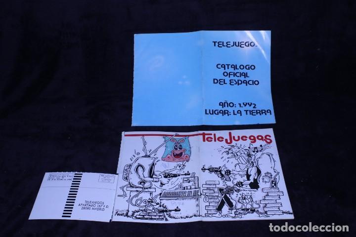 Videojuegos y Consolas: lote 2 catalogos telejuegos revista videojuegos retro arcade años 90 - Foto 2 - 203042372